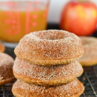 Gluten-Free Vegan Apple Cider Donuts (GF, DF, V) - A Dash of Megnut