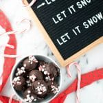 Vegan Peppermint Chocolate Truffles (GF, DF, V) - A Dash of Megnut
