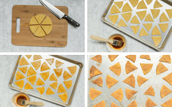How to Make Baked Chili Lime Tortilla Chips
