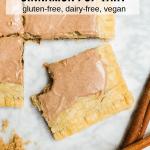 Brown Sugar Cinnamon Pop Tart - Gluten-Free and Vegan