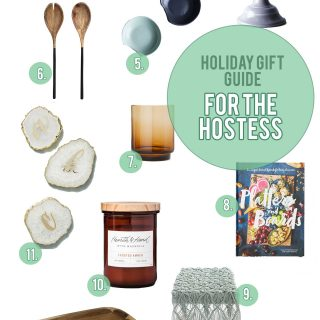 Holiday Gift Guide: Gifts For the Hostess