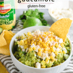 Corn and Cotija Guacamole - Gluten-Free - A Dash of Megnut