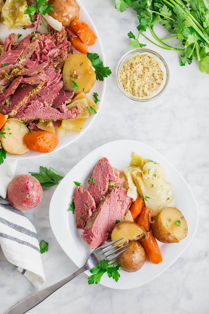 Gluten Free Slow Cooker Corned Beef An Easy Crock Pot Dinner