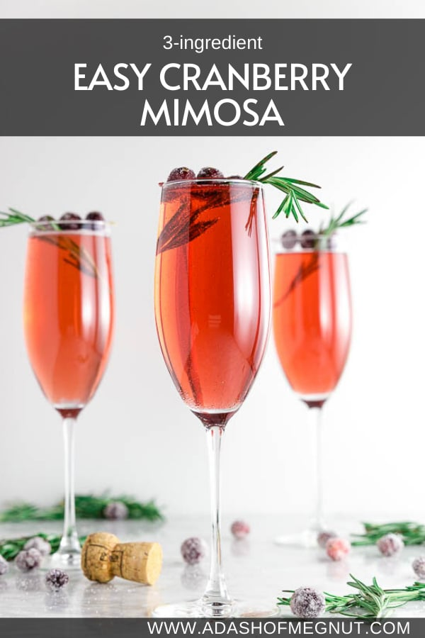 Easy Cranberry Mimosa Poinsettia Cocktail An Easy Holiday Cocktail