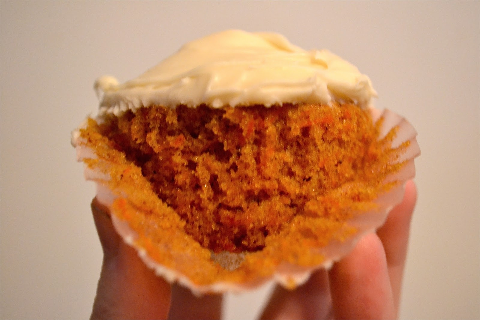Carrot Cupcakes with Cream Cheese Frosting A Dash of Megnut
