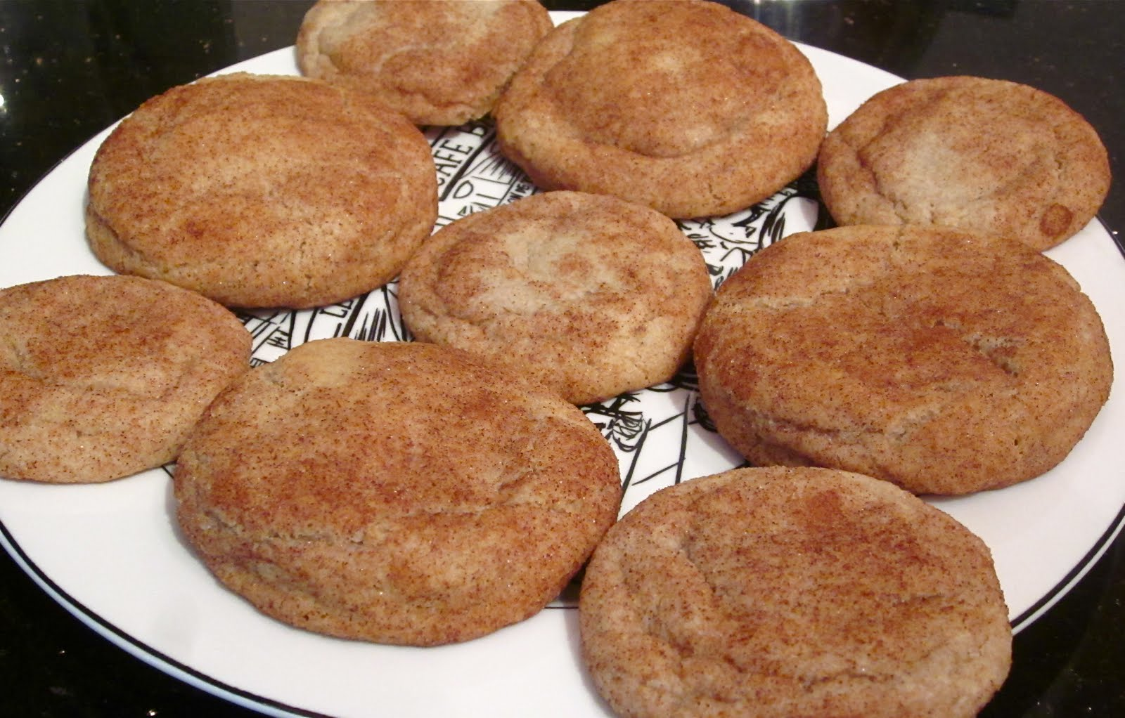 Skinny Whole Wheat Snickerdoodles Recipes — Dishmaps